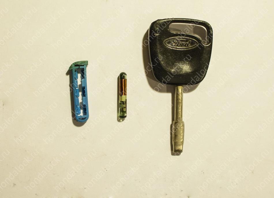 чип ключа от форда